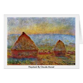 Cartes Meule de foin par Claude Monet