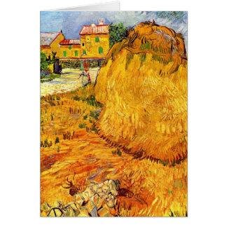 Cartes Meules de foin de Van Gogh en Provence, beaux-arts