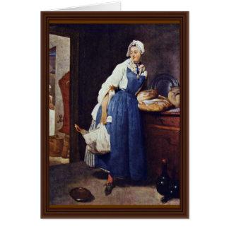 Cartes Meurent Besorgerin par Chardin Jean-Baptiste
