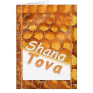 Cartes Miel de Shana-Tova dessinant Rosh heureux HaShana