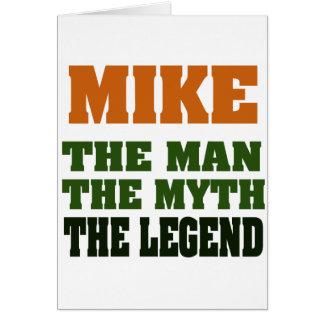 Cartes MIKE - l'homme, le mythe, la légende