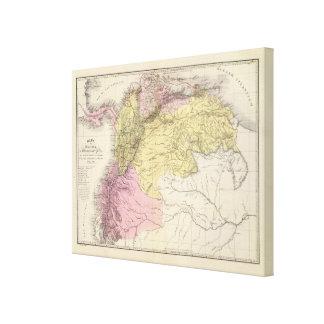 Cartes militaires historiques du Venezuela Toiles