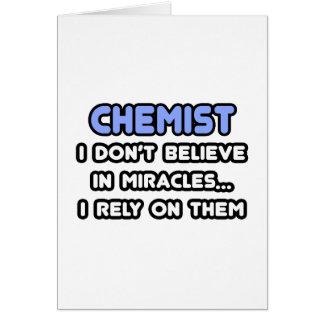 Cartes Miracles et chimistes