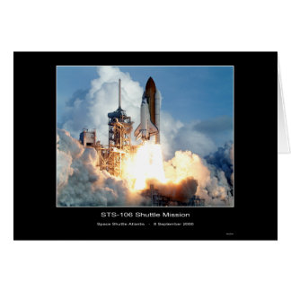 Cartes Mission d'une navette spatiale STS 106