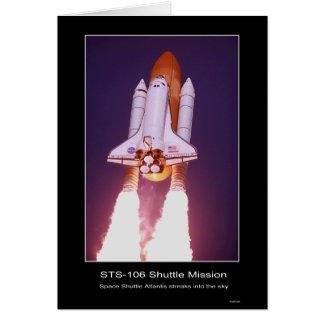 Cartes Mission d'une navette spatiale STS 107
