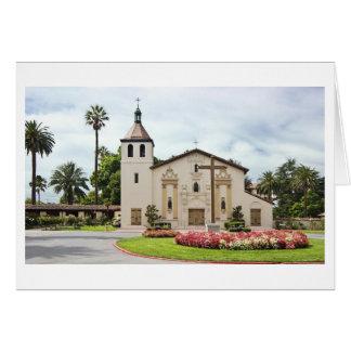 Cartes Mission Santa Clara de Asis