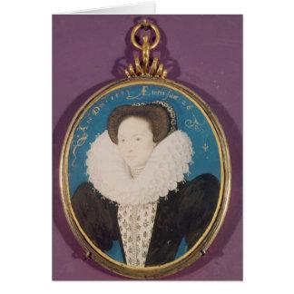 Cartes Mme Hollande, âgée 26, 1593