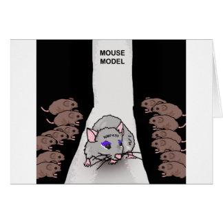 Cartes Modèle de souris