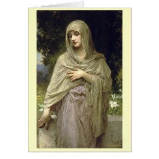 Cartes Modestie - William-Adolphe Bouguereau