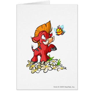 Cartes Moehog rouge et bourdonnement