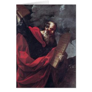 Cartes Moïse avec les comprimés de la loi