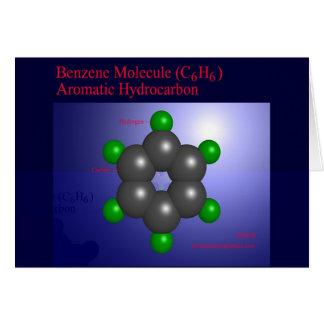 Cartes Molécule de benzène (carte)