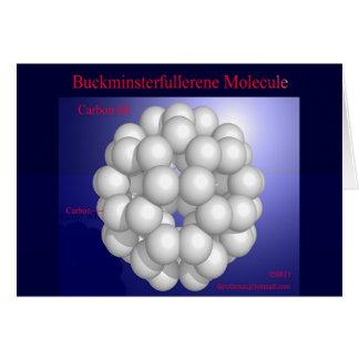 Cartes Molécule de Buckminsterfullerene (carte)