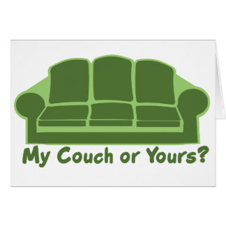 Cartes Mon divan ou vôtre ?