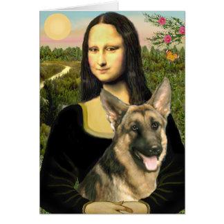 Cartes Mona Lisa - berger allemand 2