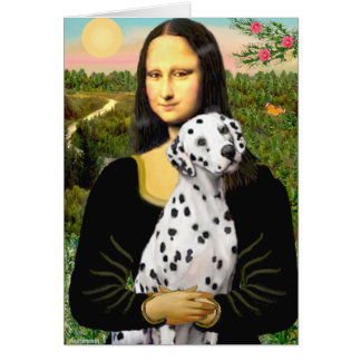 Cartes Mona Lisa - Dalmate