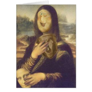 Cartes Mona Lisa irrésolue
