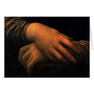Cartes Mona Lisa - mains