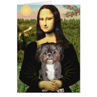 Cartes Mona Lisa - Shih Tzu (m)