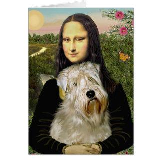 Cartes Mona Lisa - Terrier blond comme les blés 1
