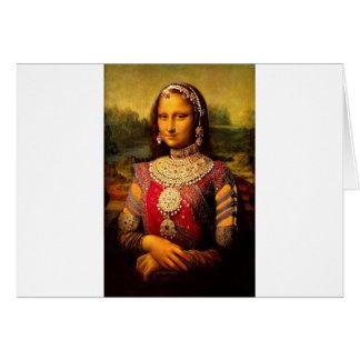 Cartes Monalisa royal indien
