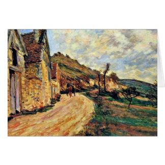 Cartes Monet - roches chez Falaise près de Giverny