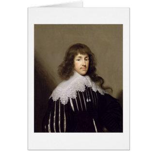 Cartes Monsieur Francis Godolphin, 1633 (huile sur la