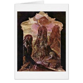 Cartes Mont Sinaï par El Greco