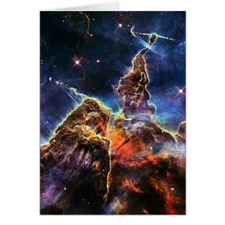 Cartes Montagne mystique dans la NASA de l'espace