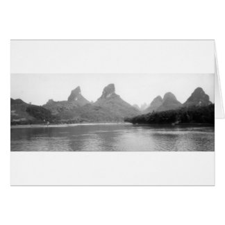 Cartes Montagnes de Guilin