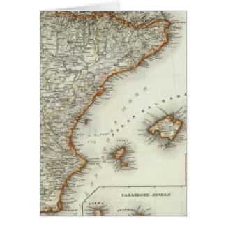 Cartes Montagnes et rivières des Îles Canaries