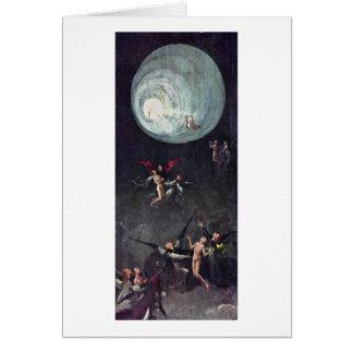Cartes Montée du béni. Par Hieronymus Bosch