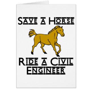 Cartes montez un ingénieur civil