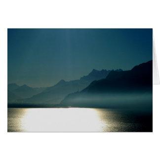 Cartes Montreux le Lac Léman