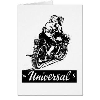 "Cartes Motards ""universels"" de moto de cru de kitsch"