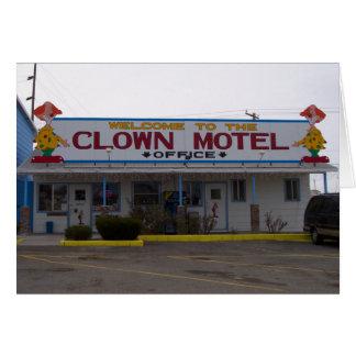 Cartes Motel de clown