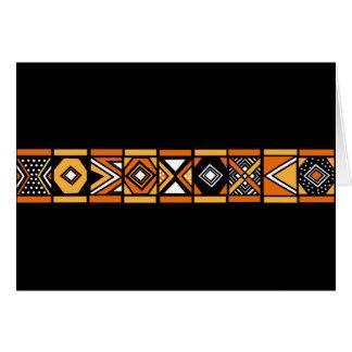 Cartes Motif africain