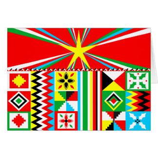 Cartes Motif tribal d'impression de conception de tissu