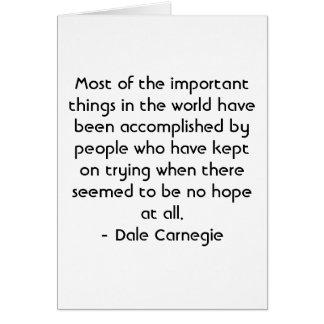 Cartes Motivation espagnole - Dale Carnegie