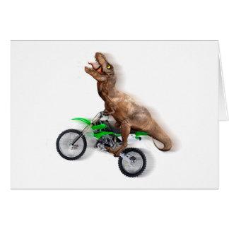 Cartes Moto de rex de T - tour de rex de t - rex volant