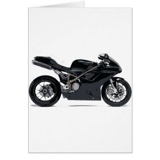 Cartes Moto noire rapide