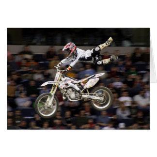 Cartes motocross aérien #4 avec la foule