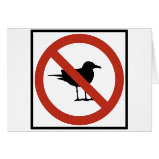 Cartes Mouettes interdites