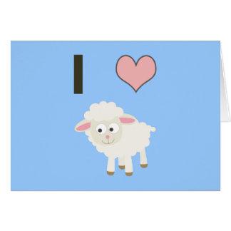 Cartes Moutons du coeur I