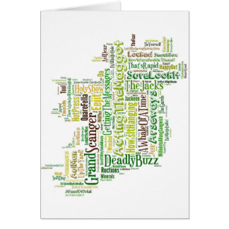 Cartes MPA irlandais d'argot