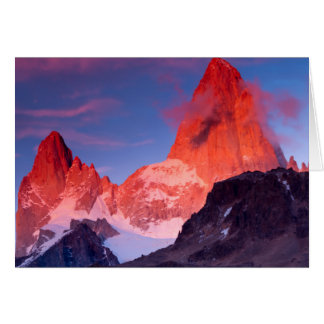 Cartes Mt Fitz Roy