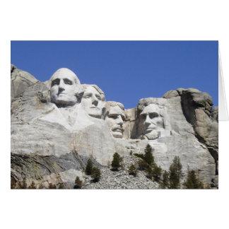 Cartes Mt Rushmore