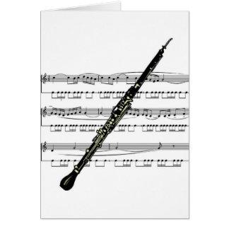 Cartes Musical 01 B de hautbois