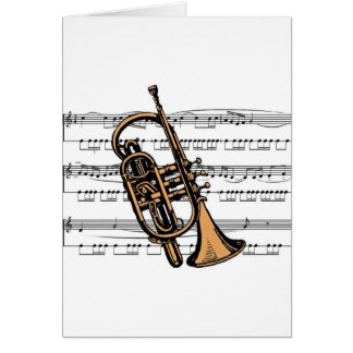 Cartes Musical 08 B de cornet