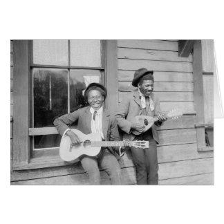 Cartes Musicians de déplacement, 1902